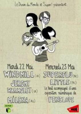 WINDMILL + JEREMY WARMSLEY + MILENASONG