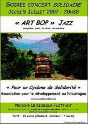Concert solidaire Art Bop