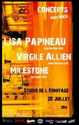 SOIREE ZAINE TRAFFIC AVEC LISA PAPINEAU + MILESTONE +  VIRGILE ALLIEN