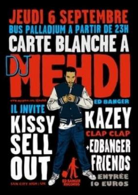 Carte Blanche à Dj Mehdi