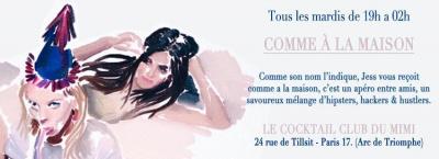 Comme A La Maison @ Le Cocktail Club du Mimi
