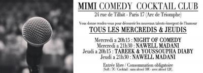 Le Mimi Comedy Cocktail Club