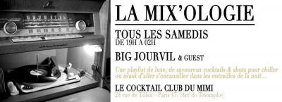 MIX'OLOGIE @ Le Cocktail Club du Mimi