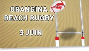 Orangina Beach Rugby