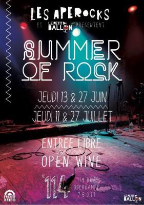 Les Apérocks #7 @ 114 OPEN WINE & w/ LOLITO + DIZZY DANCE