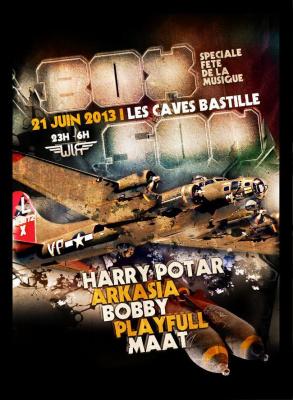 BoxSon #15 Special Fête de la Musique w/ Harry Potar, Arkasia, Bobby, Playfull & Maat - 21/06
