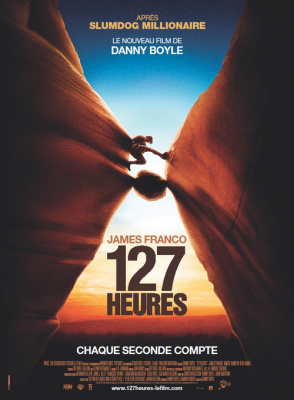 127 heures, Danny Boyle, James Franco, Aron Ralston, Clemence Poesy