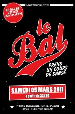 Bal, Elysée Montmartre, DJ Peter Pan