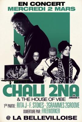 Chali 2na, House of Vibe, Bellevilloise, Jurassic 5