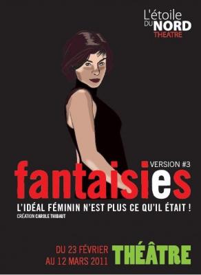 Fantaisies, Carole Thibaut, Mayday, Philippe Ménard, Théâtre, Danse, Etoile du Nord