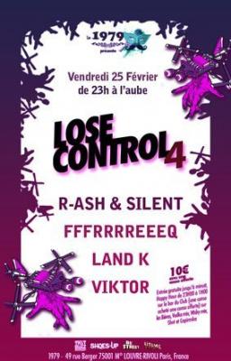 Lose Control, 1979, Soirée