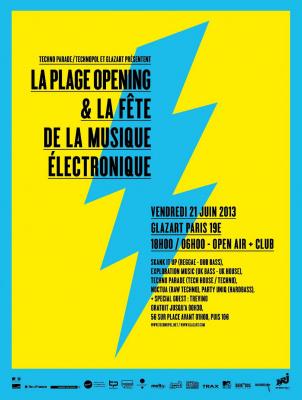 La Plage Opening & Fête de la musique électronique w/ TREVINO aka Marcus Intalex