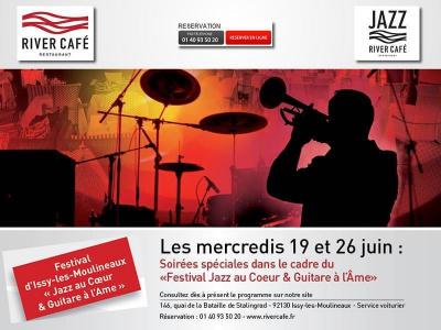 """Festival Jazz """"Au cœur et guitare à l'âme"""" au River Café"""