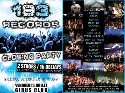Closing Party by 193 Records