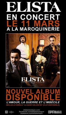Elista, Maroquinerie, L'amour, la guerre et l'imbécile