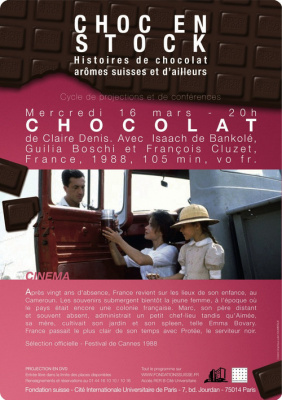 Choc en stock, Pavillon suisse, Fondation suiss