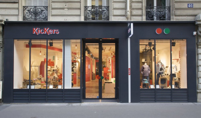 Boutique Kickers 46 rue Dufour Paris