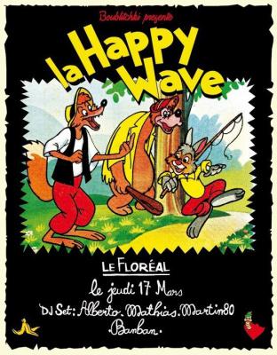 happywave, saint patrick, floreal