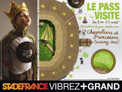 pâques 2011, chevaliers et princesses, stade de france