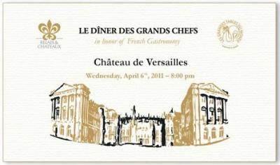 60 chefs Versailles