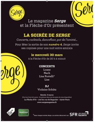 La soirée Serge