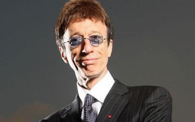Pic By Paul Grover Pic Shows musician Robin Gibb who is leading a campaign to erect an monument to Bomber Crews in Central London Pic Paul Grover