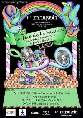 FÊTE DE LA MUSIQUE 2013 by TEKNO-EVENTS : MEDALPINE / DEEPSOUL