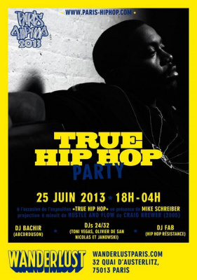 TRUE HIP HOP PARTY @ WANDERLUST | PARIS HIP HOP