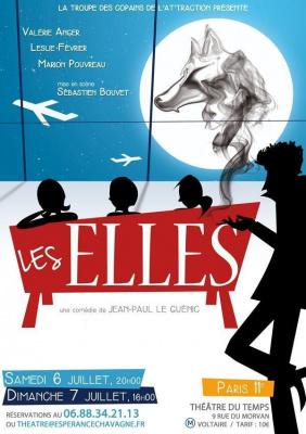 """Théâtre """"LES ELLES"""" 2 représentations exclusives"""