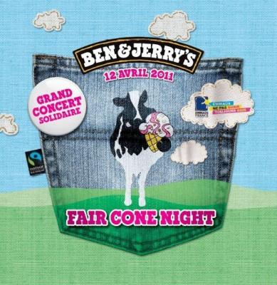 Fair Cone Night, Ben & Jerry's, Bellevilloise, Emmaus, Naïves New Beaters, DJ Pone