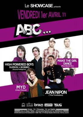 Abc, Jean Nippon, Make The Girl Dance, Showcase