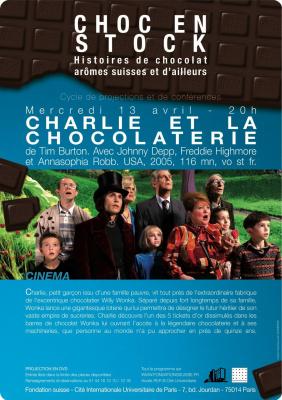 Fondation suisse, Choc en stock, Charlie et la chocolaterie