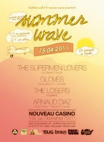 Summer Wave, Nouveau Casino, The Supermen Lovers