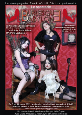 burlesque babylone