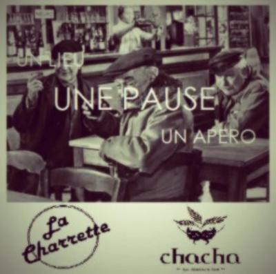 "MARDI 25.06 "" La Pause"" at Chacha w/ Vincent Vargas"