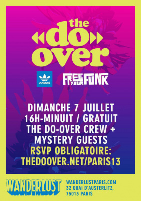 THE DO-OVER : LA LEGENDAIRE DAYTIME PARTY DE LOS ANGELES DEBARQUE A PARIS