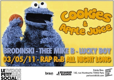 Cookies & Apple juice, Brodinski, Social Club