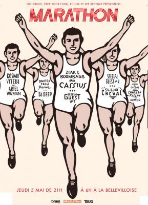 Marathon, Bellevilloise, Cassius, Ariel Wizman