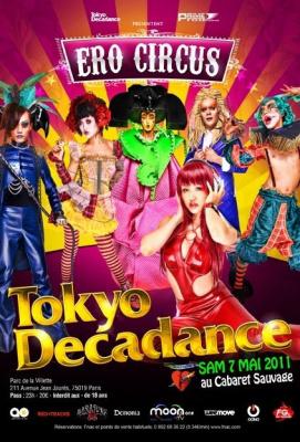 Tokyo decadance, Euro Circus, Cabaret Sauvage