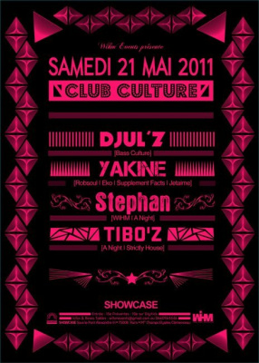 Club Culture, Showcase, Soirée