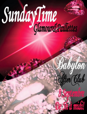 """Sunday Time """"Glamour & Paillettes"""""""