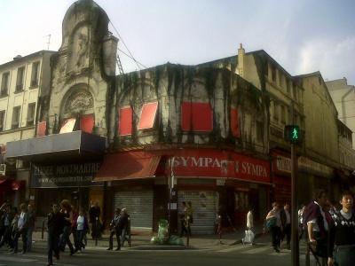 incendie Elysée Montmartre