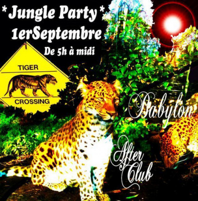 """Sunday Time """"Jungle Party"""""""