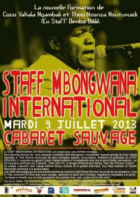STAFF MBONGWANA INTERNATIONAL (Ex Staff Benda Bilili)