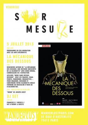 SUR-MESURE : LA MÉCANIQUE DES DESSOUS avec FRANÇOIS K / GREGO G / GET A ROOM! & GUESTS