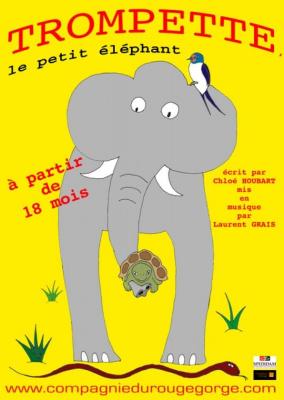 trompette le petit éléphant