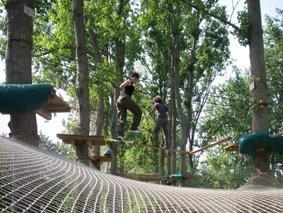 Parcours aventure de la Base de loisirs d'Etampes