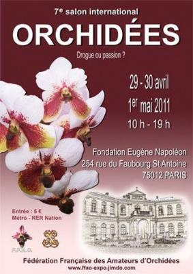 salon international des orchidées 2011