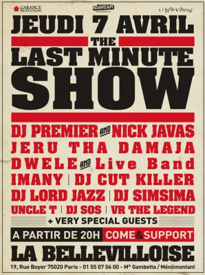 the last minute show
