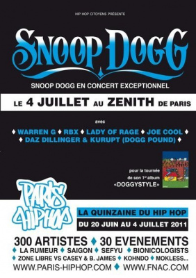 Snoop Dog Hip Hop Festival